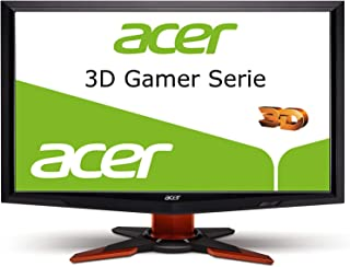 Acer GD245HQ, 23.6 inch, 3D monitor, 2 ms, HDMI & DVI-D, 1920x1080, 80000:1, 120Hz