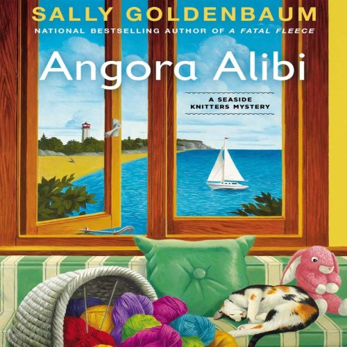 Angora Alibi audiobook cover art