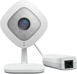 Arlo Q Plus VMC3040S-100EUS - Cámara de seguridad y vigilancia 1080p HD con audio y Ethernet