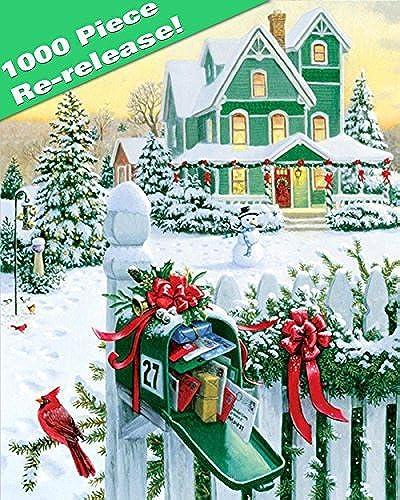 Más asequible Springbok Holiday Mail 1000 1000 1000 Piece Jigsaw Puzzle by Springbok  lo último