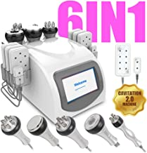 6 in 1 RF Multi-Function - Face & Body Slimming & Shaping Treatment Device Machine [US Warranty & US Based Tech Support] : Wrinkles,Fat around Eyes,Face,Cheeks,Chin,Forehead,Belly,Stomach,Hips,Thighs