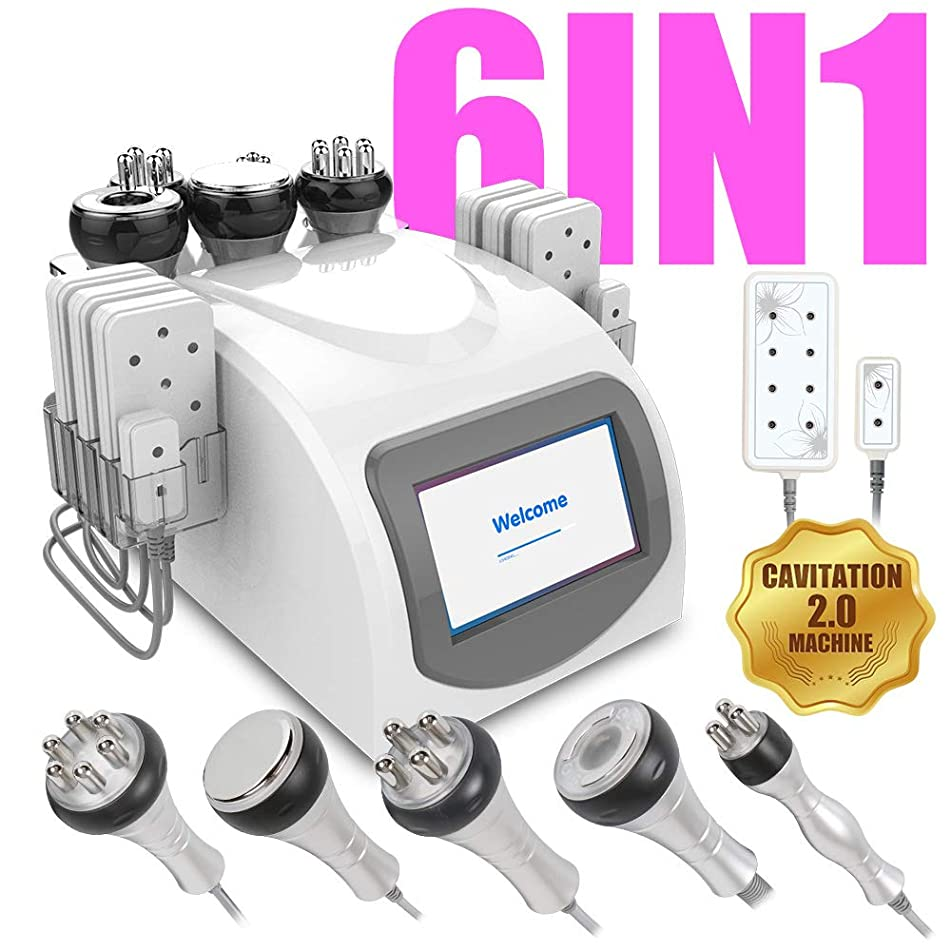 Ariana Spa Supplies 6 in 1 RF Multi-Function - Face & Body Slimming & Shaping Treatment Device Machine