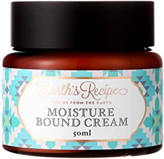 Earth's Recipe Moisture Bound Cream 50ml Anti Aging Day and Night Moisturizing Facial and Eye Cream with Tremella Mushroom Filled With White Jelly Natural Herbs Rich in Collagen and Active Ingredients