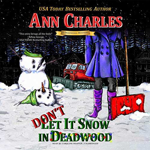 Don't Let It Snow in Deadwood audiobook cover art