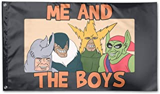 DAHWY Me and The Boys Me-me Outdoor Flag 3 * 5 (90cm*150cm)