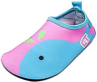 Gaorui-Boys Girls Child Skin Water Shoes Zapatos Desclazo de Agua Natación Yoga Playa A15 0706