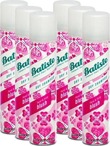 Batiste, Shampoo secco Blush, 200 ml, confezione da 6 pezzi