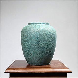 Jarrones Pequeño florero de cerámica china retro flor de escritorio Adornos disposición de la técnica la sala de estar C...