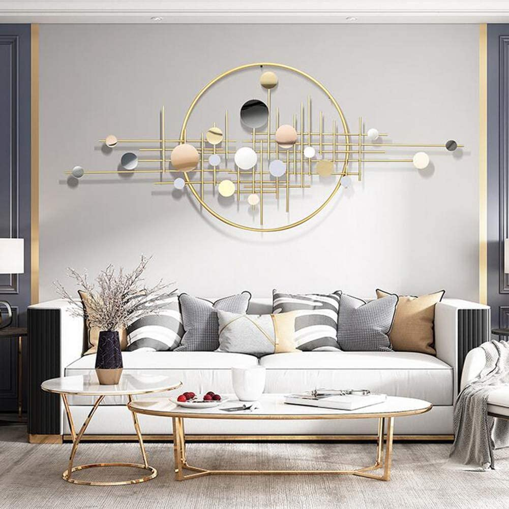 Amazon Com Ggkly Metal Wall Decoration Metal Wall Hanging Decoration Art Decor Home Decoration For Living Room Decor And Modern Home Decorations 14561cm Sports Outdoors