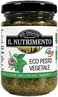 Il Nutrimento Pesto Bio - 3 Paquetes de 1 x 130 gr - Total: 390 gr