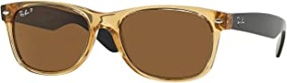 RB 2132 945/57 55mm New Wayfarer Honey W/ Crystal Brown...