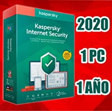 KASPERSKY INTERNET SECURITY 2020 1 PC licencia electrónica