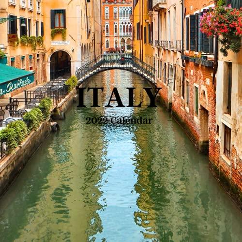 Italy 2022 Calendar: Italy 2022 wall Calendar, office Calendar, 18 Months.