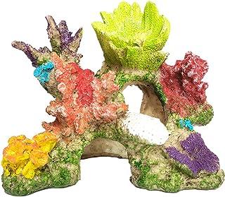 水槽 用 オブジェ アクアリウム オーナメント 珊瑚 サンゴ 装飾 魚 の 隠れ家に (スタイルB)
