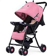 Sillas de paseo Paraguas de bolsillo de la compra de cochecito de bebé Ultr Luz portátil carro plegable Mini Los niños pueden sentarse puede mentir los cochecitos de niño del carro de bebé Cochecito d