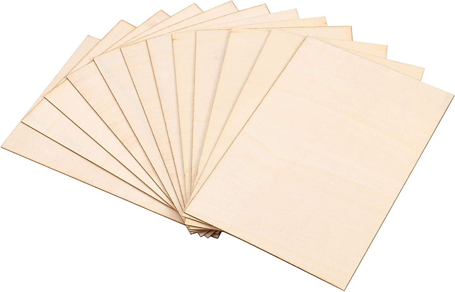 ZOENHOU Max 47% OFF 16 Pack 300 x 200 Basswood Wood Thin Boa 1.5mm Sheets Online limited product