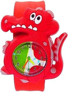 Orologio Bambino XYBB orologi per bambini cartone animato dinosauro animale orologio per bambini fermaglio cerchio giocatt...