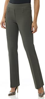 Women's Secret Figure Pull-On Knit Bootcut Pant w/Tummy Control
