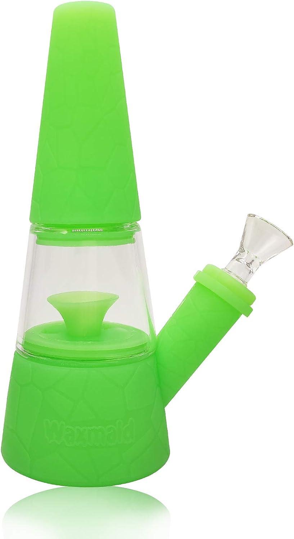 Waxmaid Silicone Vase of Design Green 安心の実績 高価 買取 強化中 Original Fountain 正規品スーパーSALE×店内全品キャンペーン