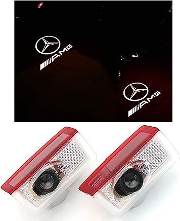 Luces de bienvenida del láser del coche con el logotipo de la puerta del proyector Ghost