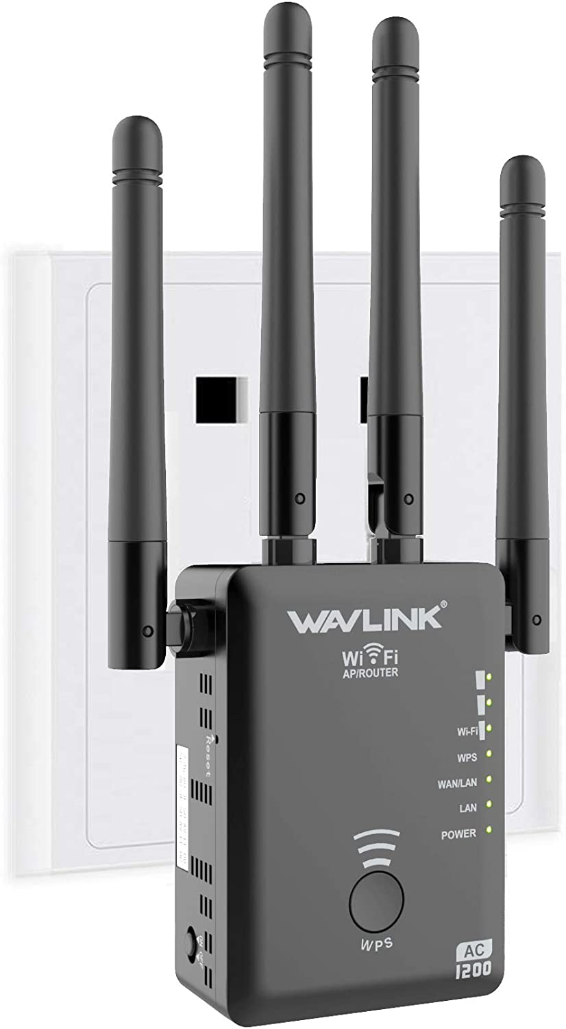 Online limited product 1200Mbps WiFi Range Extender Wireless Fashion Upgraded Signal Repeater