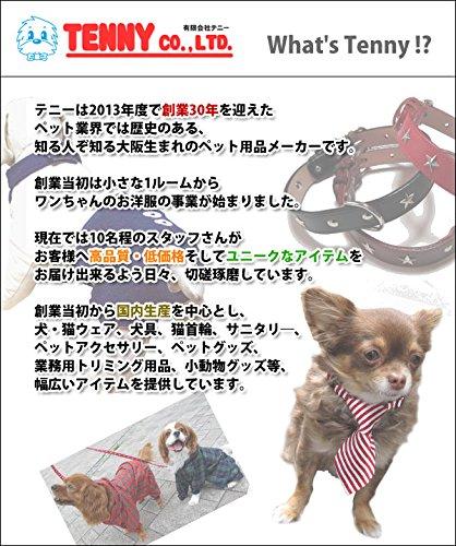 TENNY(テニー)『なめし革首輪犬本革日本製24mm幅』