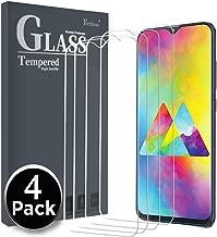 Ferilinso Vetro Temperato per Samsung Galaxy M20, A10S, A10,[4 Pack] Pellicola Protettiva Protezione Schermo in Vetro Temperato Screen Protector Film con Garanzia di Sostituzione