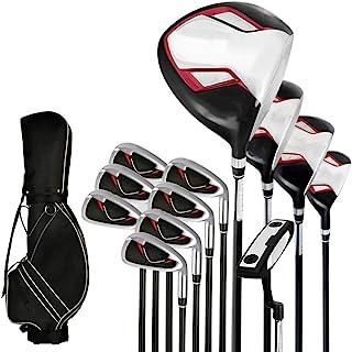 Xhtoe Golf Club Set Golf Club Golf Club Set Heren Set Polen Beginner Volledige Set Van 12 Golflicht En Hoge Elastische Car...
