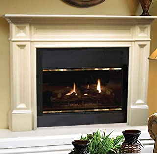 Pearl Mantels Classique Fireplace Mantel, 50-Inch, Unfinished