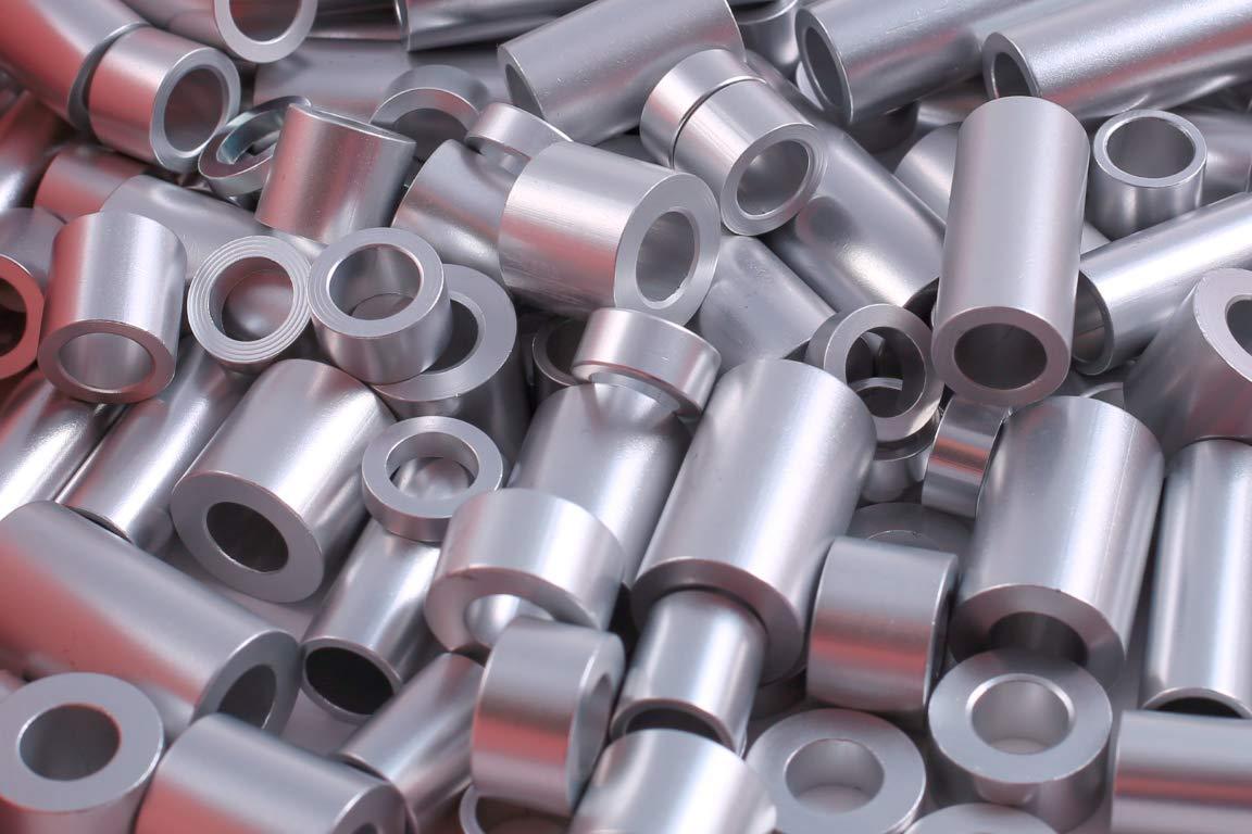 5//16 Screw NO 3//4 OD x 0.315 ID x 3//16 Length 5 Pcs of Aluminum Spacer