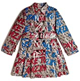GUESS Junior Giacca LS Trench Coat Giacca Girl Navy J01L00/WCL30 12a