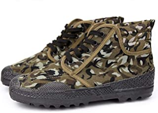 Liberation shoes low-cut shoes wear-resistant camouflage rubber shoes training shoes labor insurance yellow ball shoes men can be used as on-site labor insurance military training and other outdoor ac
