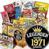Legenden 1971 / Geschenke Ideen für Sie / Schokolade DDR Süßigkeiten - Box XL