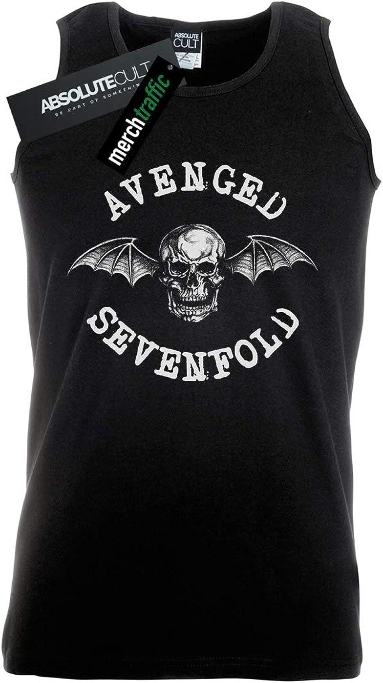 Avenged Sevenfold Hombre Bat Camiseta Sin Mangas