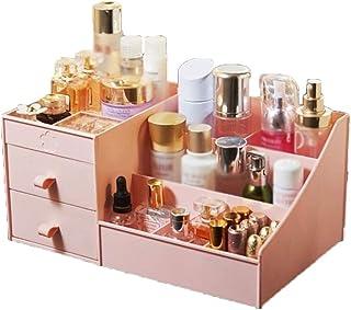Boîte de rangement esthétique Cosmétiques Boîte de rangement - grande capacité tiroir de maquillage Organisateur Bijoux On...
