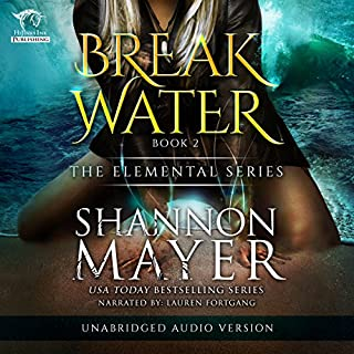 Breakwater audiobook cover art