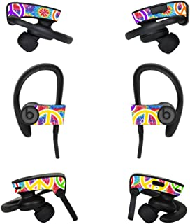Skin Compatible with Dr Dre Powerbeats3 Wireless in-Ear Headphones – Peaceful Explosion | MightySkins Protective, Durable, and Unique Vinyl Decal wrap Cover | Easy to Apply, Remove | Made in The USA