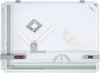 oliote Planche à Dessin A3 avec Bloc Multifonction, Plaque de signalisation Rapide pour travaux Professionnels 55 x 39 cm ...