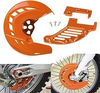 Farbe : Orange NO LOGO ZWQ-Brake Motorrad-Bremsscheibe hinten Schutz Schutz for KTM SX SXF EXC EXCF XC XCF XCW XCFW 150 200 250 125 300 350 400 450 500 505 530