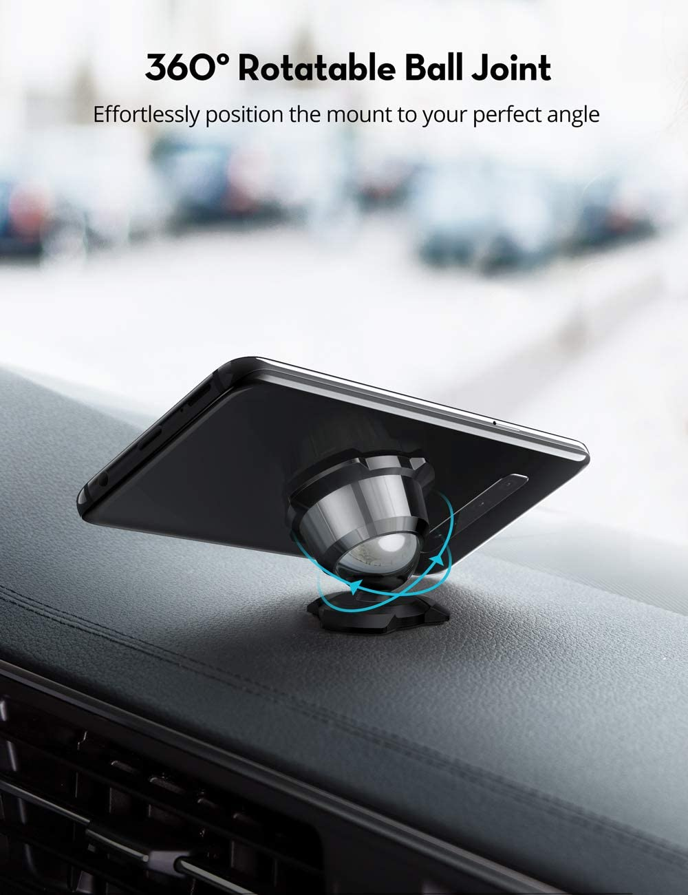 Galaxy S9 and More Mobile Phones Car Phone Holders for Car with a Super Strong Magnet for iPhone XS XR XS MAX VAVA Magnetic Phone Holder