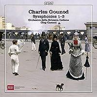 Gounod: Symphonies Nos. 1-3 by Orchestra della Svizzera Italiana