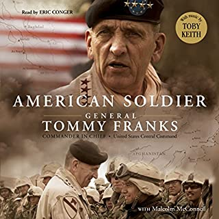 American Soldier audiobook cover art