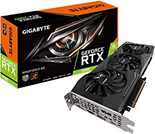 GIGABYTE NVIDIA GeForce RTX 2080 搭載 グラフィックボード 8GB 非OCモデル GV-N2080WF3-8GC