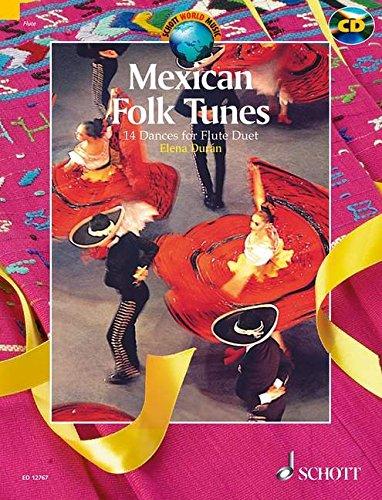 Mexican Folk Tunes +CD - Fl(2)
