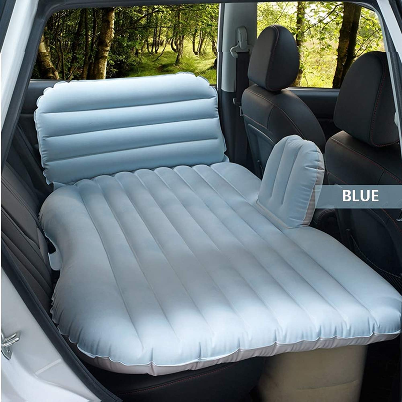 KANGLE Autokennwehen, Luftbett, Luftbett, Luftbett, Bequeme Travel Inflatable SUV Car Back Seat Cushion Air Matress mit Luftpumpe für Camping Trip (1350  850mm) B07PQSPJZC  Flut Schuhe Liste de1fa6