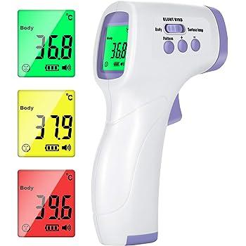 Termometro Infrarossi Termometro Digitale Allarme Temperatura Multifunzione 4 In 1