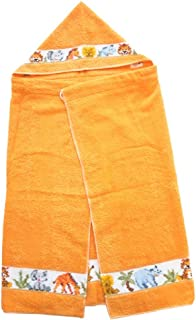フェイラー バスポンチョ ジャングル オレンジ バスタオルポンチョ JUNGLE Chenille Bath poncho