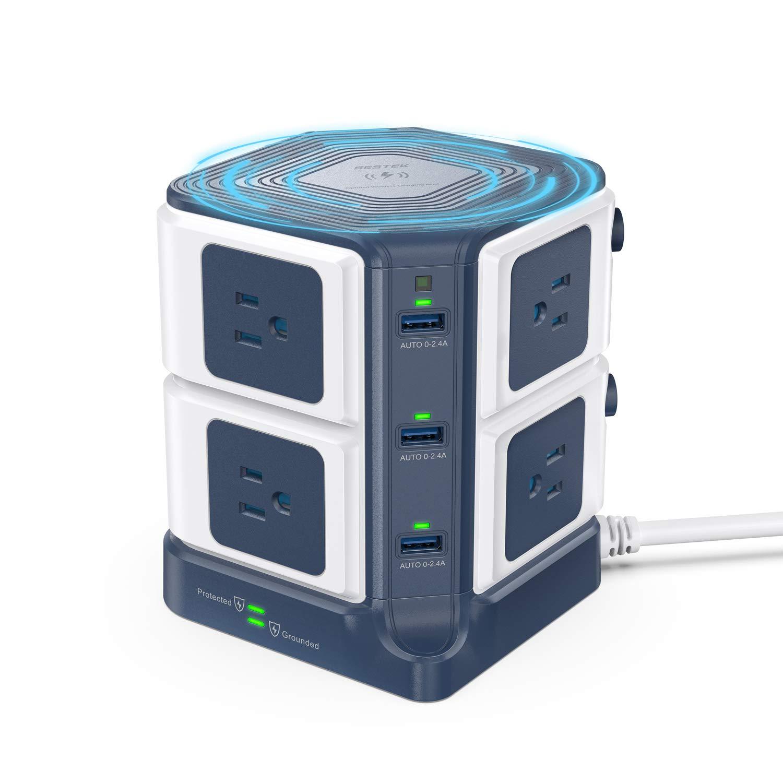 Wireless BESTEK 8 Outlet Protector Accessories