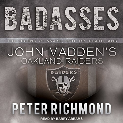 Badasses audiobook cover art