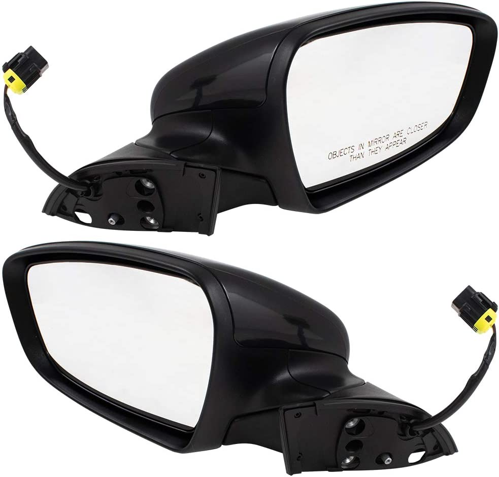 Brock Replacement Pair Set Power View Heated Manual safety Mirrors Excellent Side